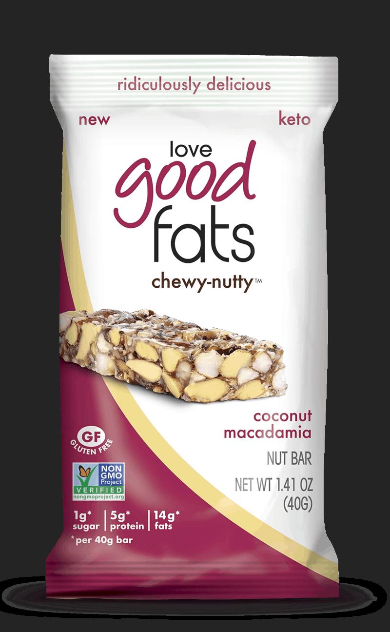 Love Good Fats - Bar - Healthy Snacks
